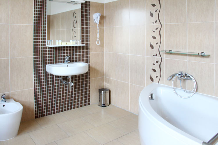 Brno Pension Luna accommodation comfortably equipped room bathroom bidet